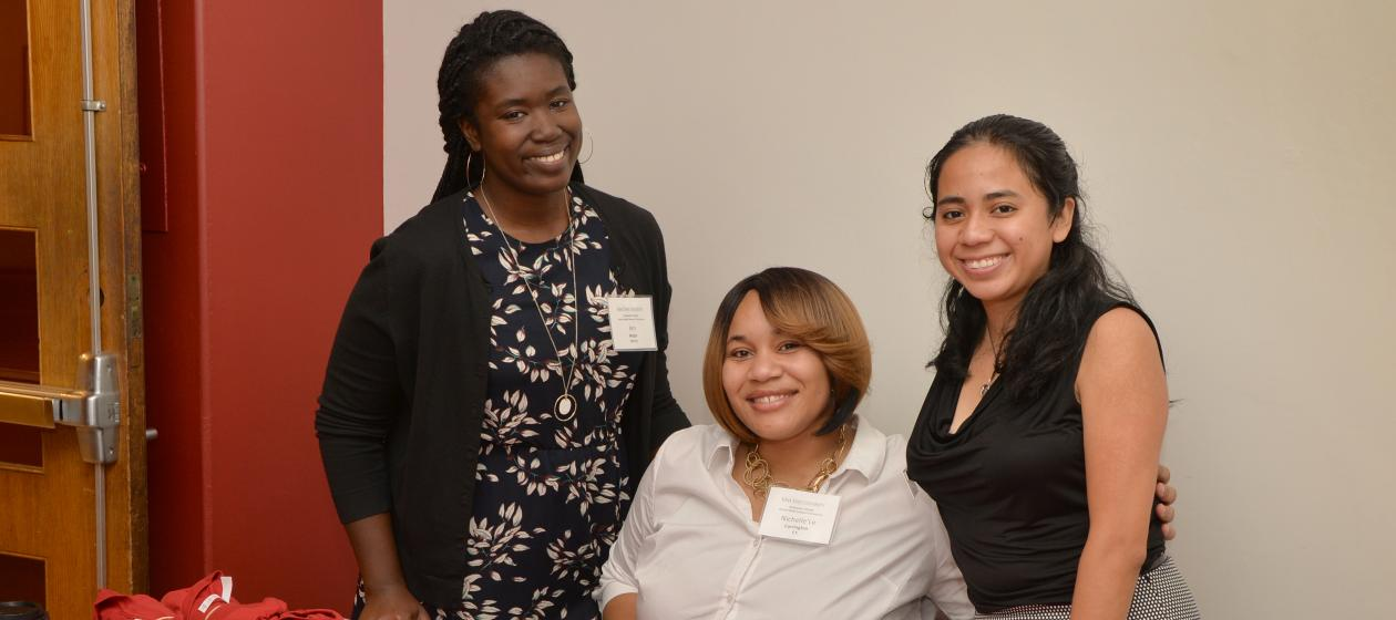 2017 Planning Committee Members (L-R): Jen Major, Nichelle'Le Carrington, and Liz Carino
